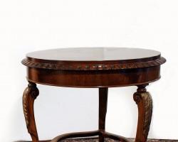 118 tavolino ciliegio intarsiato