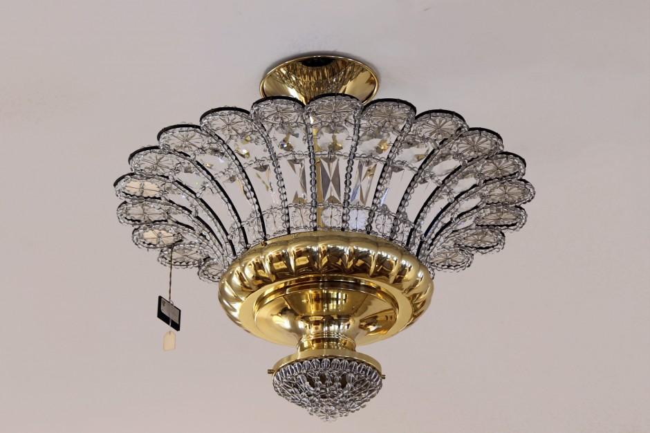 Plafoniera Ottone E Vetro : Outlet illuminazione u leonetti arredamenti